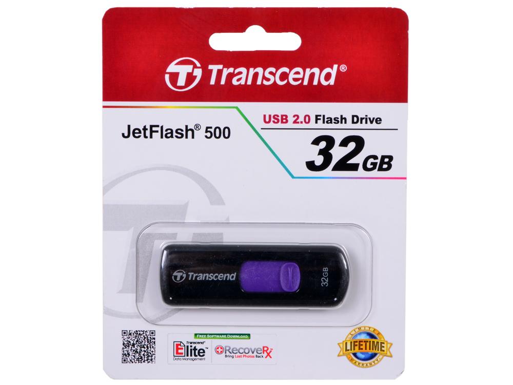 USB флешка Transcend 500 32GB (TS32GJF500)