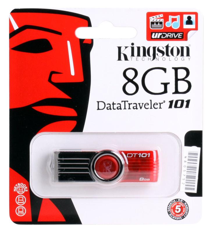 USB флешка Kingston DT101G2  8GB (DT101G2/8GB) kingston dt tank 8gb green