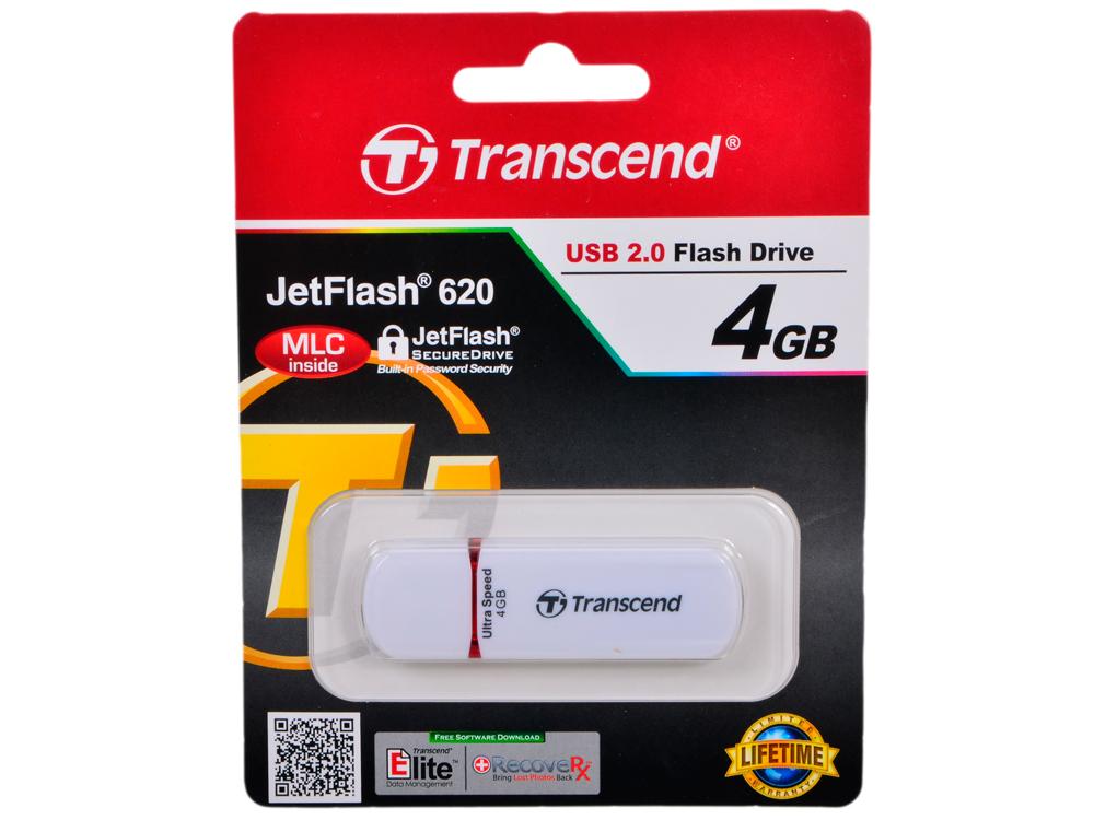 USB флешка 4GB USB Drive  Transcend 620 (TS4GJF620) экшн камера transcend drive pro body 10 ts32gdpb10a