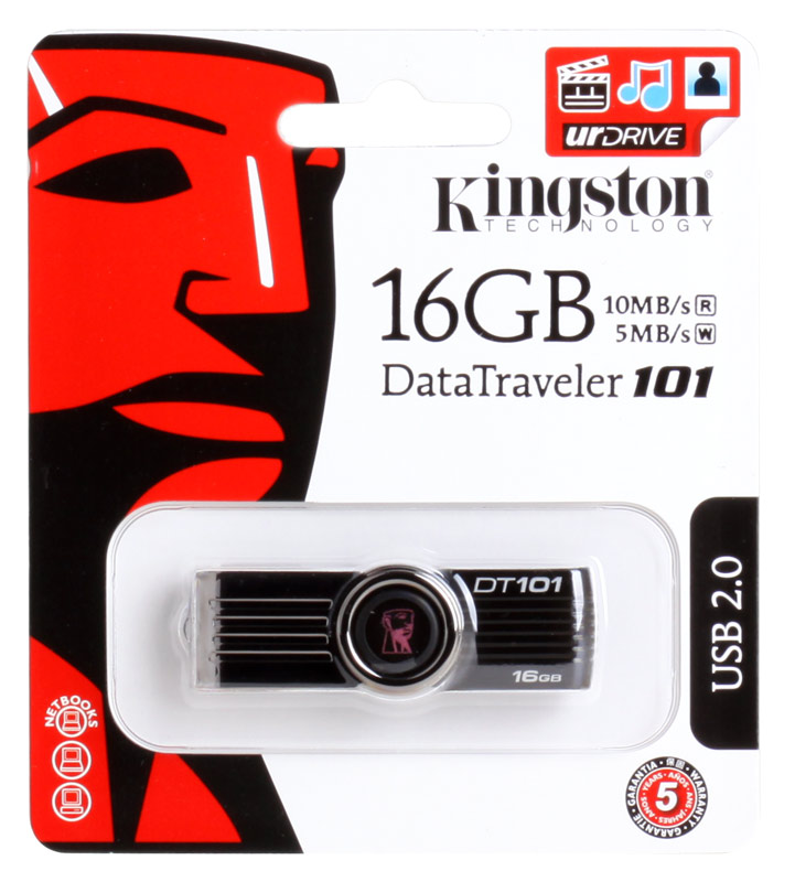 USB флешка Kingston DT101G2 16GB (DT101G2/16GB)