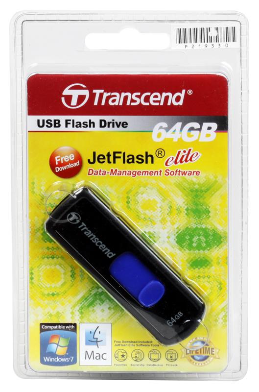 USB флешка Transcend 500 64GB (TS64GJF500) transcend ts32gmts400