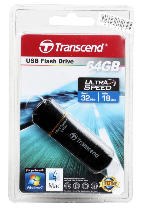 USB флешка 64GB USB Drive [USB 2.0] Transcend 600 (TS64GJF600) fk usb usb