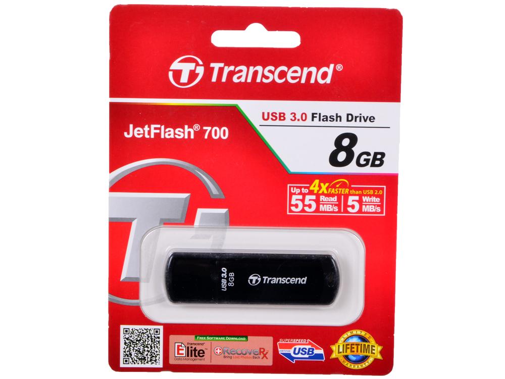 USB флешка Transcend 700 8GB (TS8GJF700) usb флешка 4gb usb drive usb 3 0 transcend 700 ts4gjf700