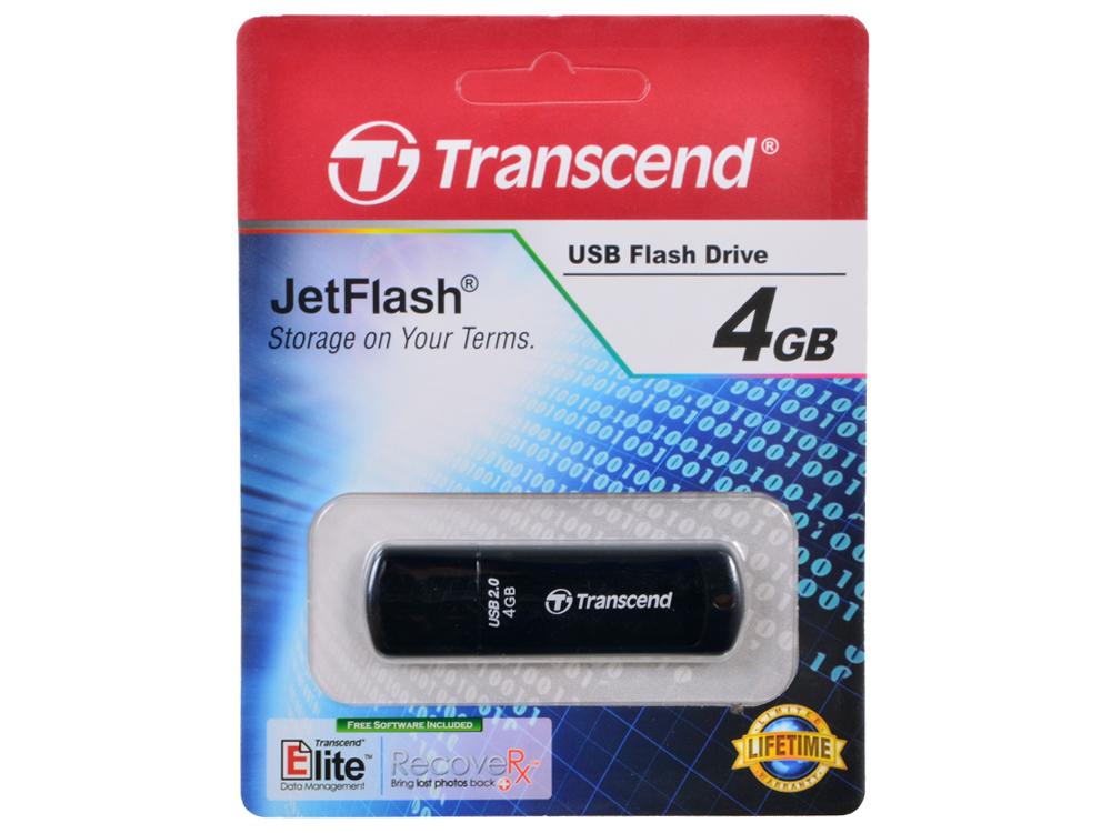 USB флешка Transcend 350 4GB (TS4GJF350) usb флешка 4gb usb drive usb 2 0 transcend 620 ts4gjf620