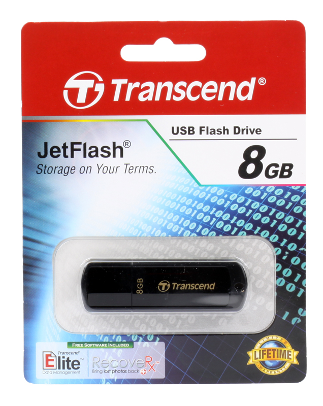 USB флешка Transcend 350 8GB (TS8GJF350) цена и фото