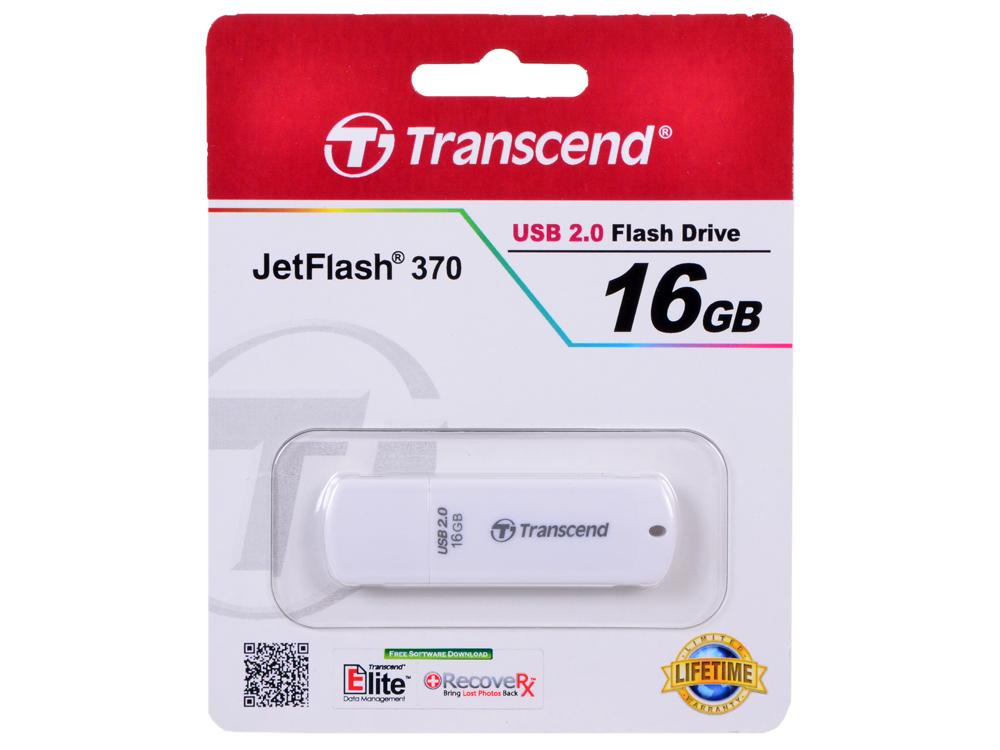 USB флешка Transcend 370 16GB (TS16GJF370) transcend ts32gmts400