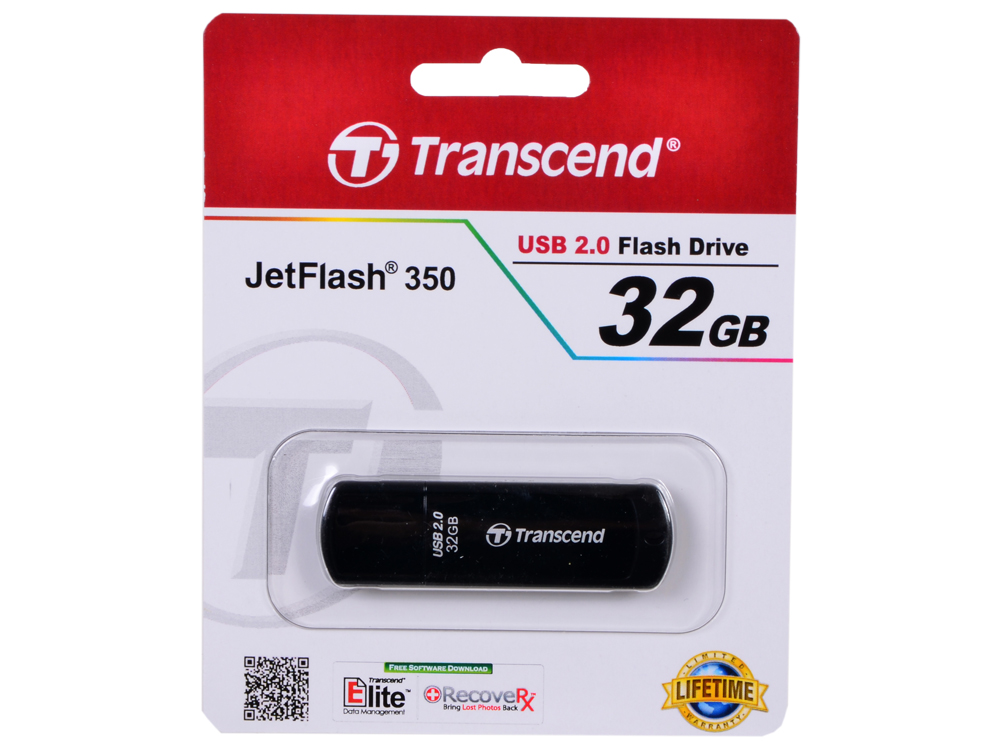 USB флешка Transcend 350 32GB (TS32GJF350)
