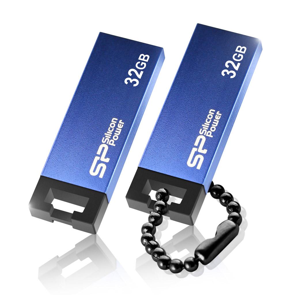 USB флешка Silicon Power Touch 835 32GB Blue (SP032GBUF2835V1B) USB 2.0 silicon power touch 835 64gb blue usb накопитель