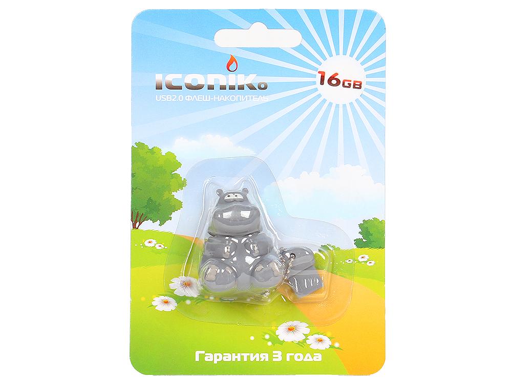 Внешний накопитель ICONIK Бегемот 16GB (RB-HIPPO-16GB)