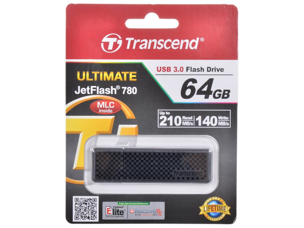 USB флешка Transcend 780 64GB (TS64GJF780) usb флешка transcend 350 64gb ts64gjf350
