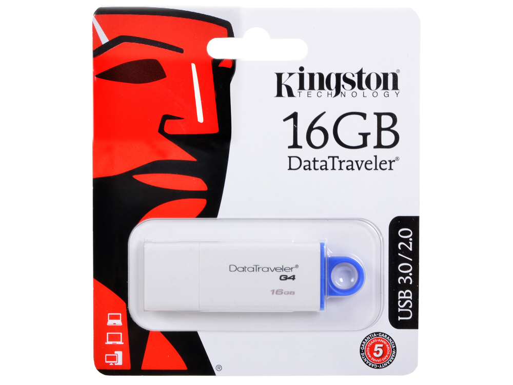 USB флешка Kingston DTIG4 16GB (DTIG4/16GB)