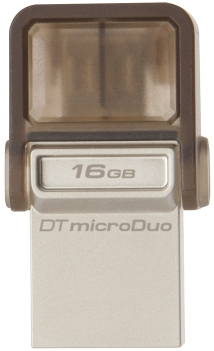 Внешний накопитель 16GB USB Drive (USB 2.0) Kingston DTDUO (DTDUO/16GB) от OLDI