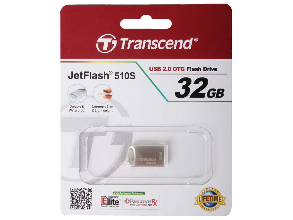 Внешний накопитель Transcend 510S 32GB (TS32GJF510S)