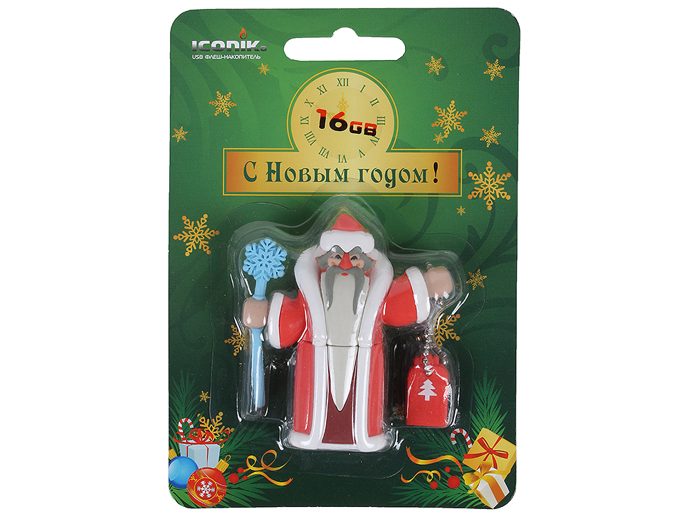 RB-DMOROZ-16GB usb flash drive 16gb iconik танк rb tank 16gb