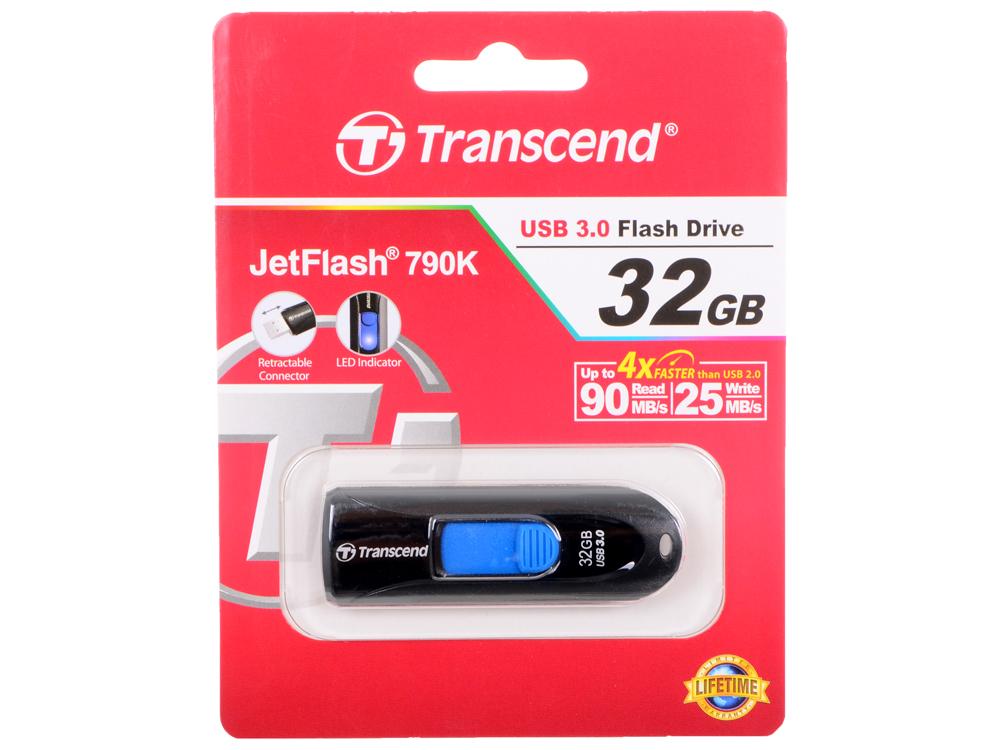 USB флешка Transcend 790K 32GB (TS32GJF790K)