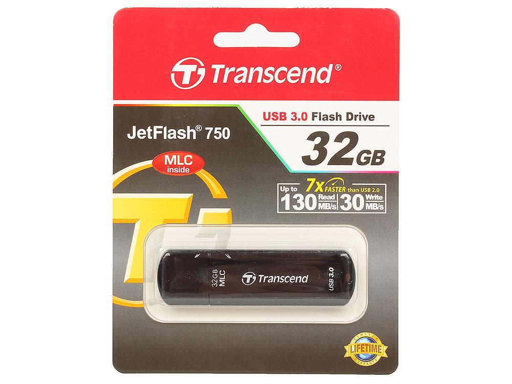 USB флешка Transcend 750 32GB (TS32GJF750K)