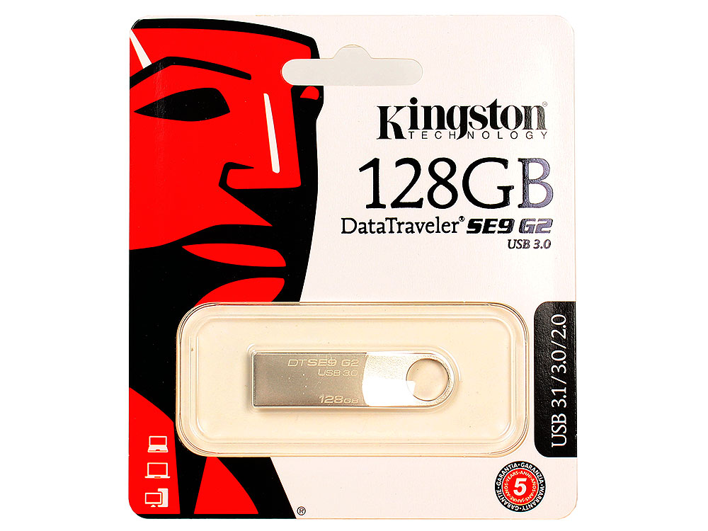DTSE9G2/128GB usb flash накопитель 128gb kingston hyperx hxs3 128gb usb3 1 черный