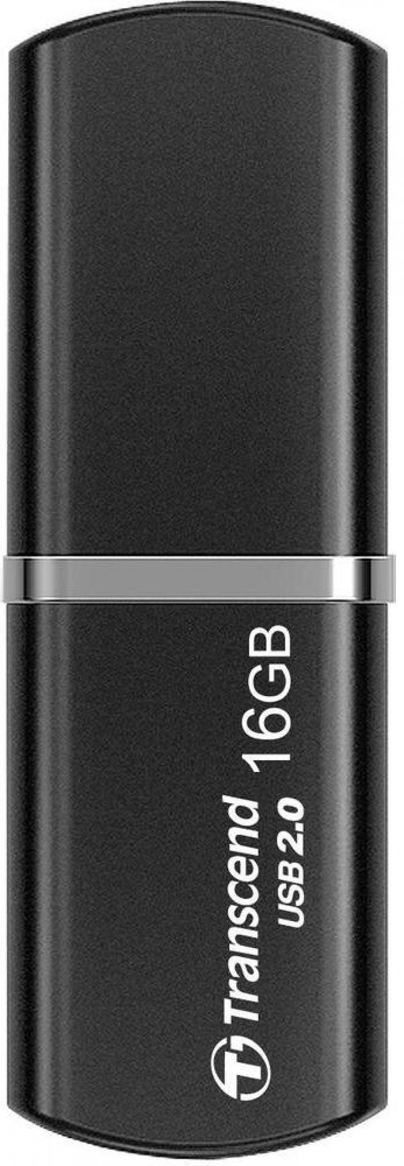 Флешка USB 16Gb Transcend JetFlash 320K TS16GJF320K черный