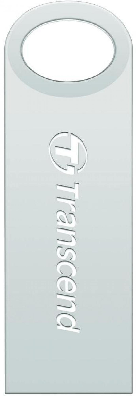 Флешка USB 16Gb Transcend JetFlash 520S TS16GJF520S серебристый transcend jetflash 520 64гб серебристый