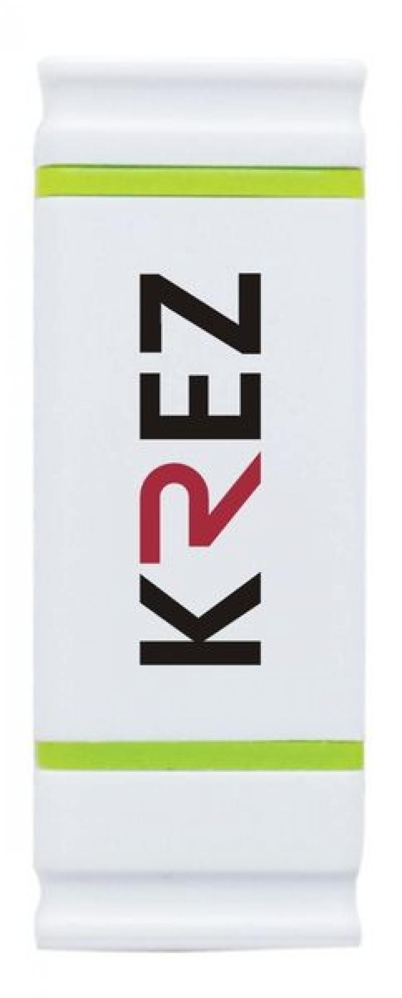 Флешка USB 32Gb Krez micro 501 бело-зеленый KREZ501WE32