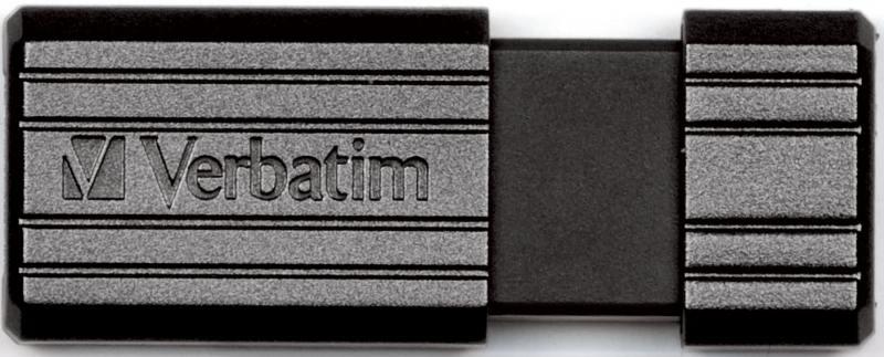 Флешка USB 8Gb Verbatim Store 'n' Go PinStripe 49062 USB2.0 черный