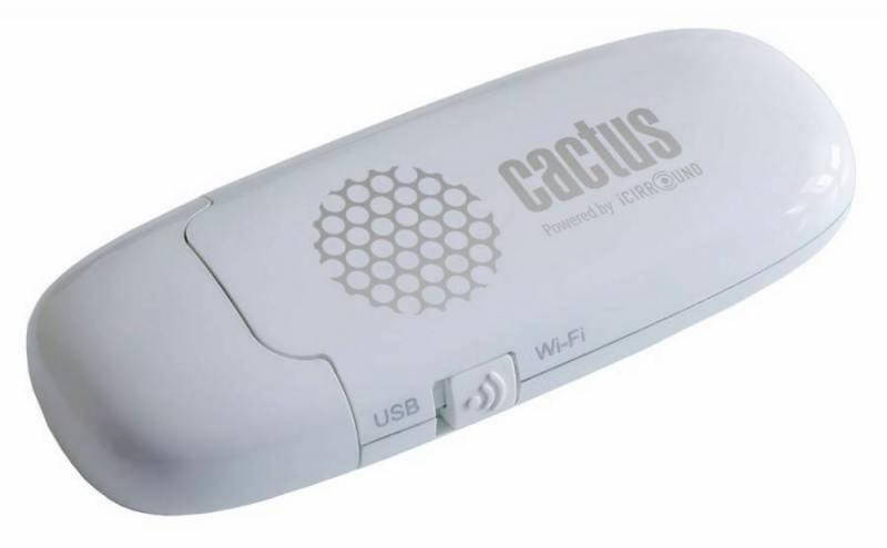 цена на Флешка Wi-Fi 8Gb Cactus iShowDrive CS-ISHOWDRIVE-8GB белый