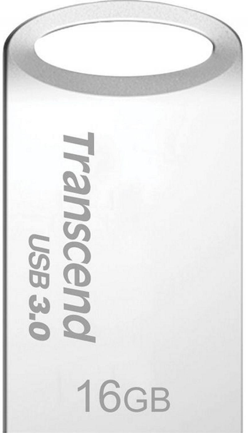 Флешка USB 16Gb Transcend Jetflash 710 TS16GJF710S серебристый флешка usb 32gb transcend jetflash 710 ts32gjf710s серебристый
