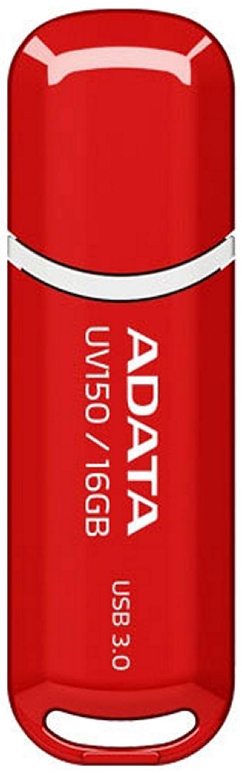 Флешка USB 16Gb A-Data UV150 USB3.0 AUV150-16G-RRD красный