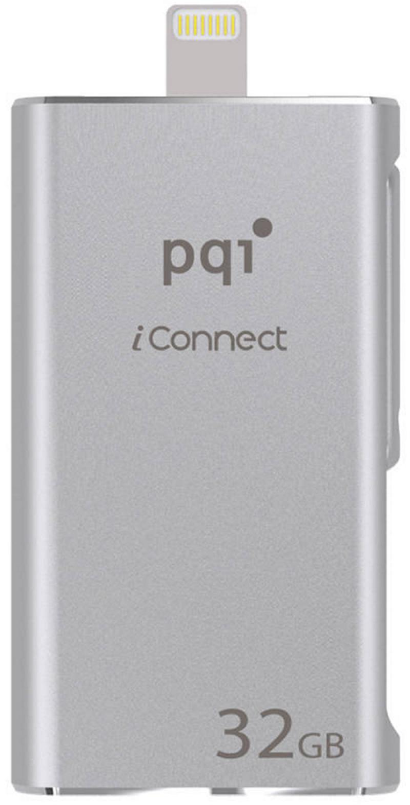 Флешка USB 32Gb PQI iConnect серебристый 6I01-032GR1001