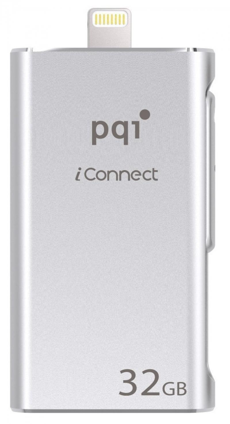 Флешка USB 32Gb PQI iConnect серебристый 6I01-032GR2001