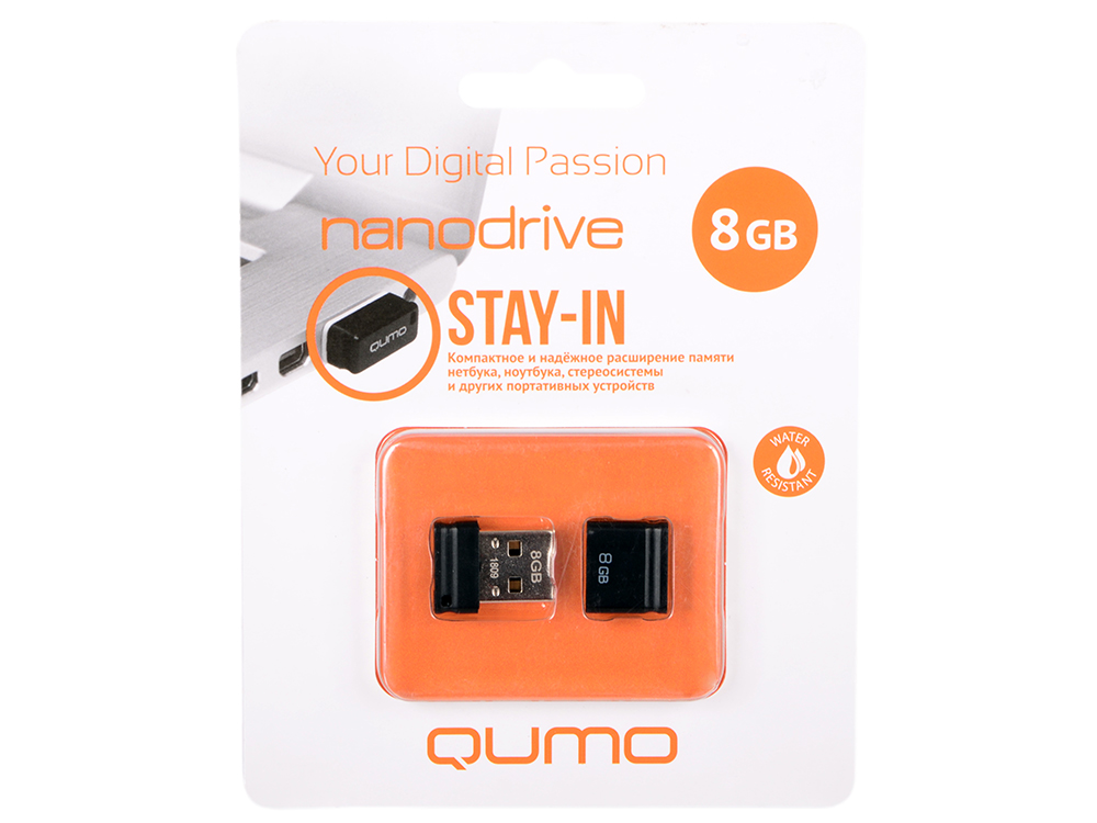Фото - USB флешка QUMO NanoDrive 8Gb Black (QM8GUD-NANO-B) USB 2.0 hae soo kwak nano and microencapsulation for foods