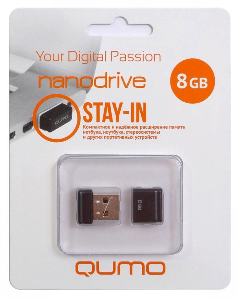 Фото - Флешка USB 8Gb QUMO NanoDrive USB2.0 черный QM8GUD-NANO-B hae soo kwak nano and microencapsulation for foods