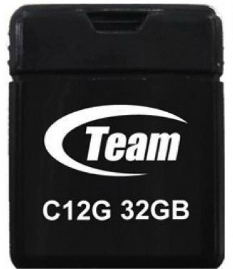 Флешка USB 32Gb Team C12G черный TC12G32GB01 shakespeare william rdr cd [lv 2] romeo and juliet