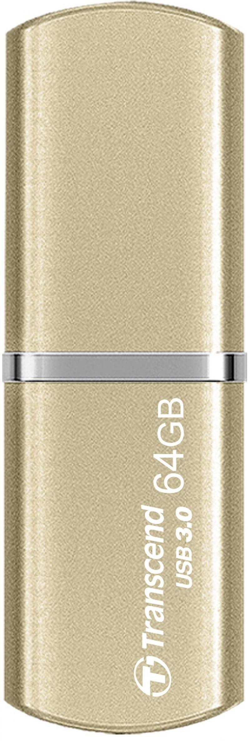 Флешка USB 64Gb Transcend Jetflash 820G USB3.0 TS64GJF820G золотистый usb накопитель 64gb transcend jetflash 530 ts64gjf530