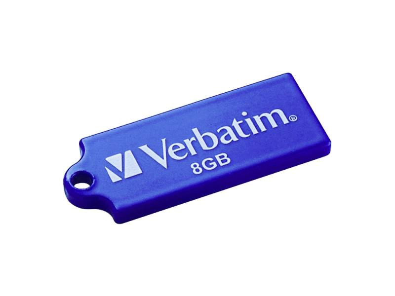 Флешка USB 8Gb Verbatim Store 'n' Go Mini ELEMENTS EDITION 98160 USB2.0 Earth