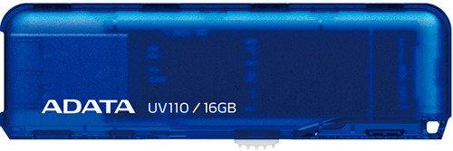 Флешка USB 16Gb A-Data UV110 AUV110-16G-RBL голубой