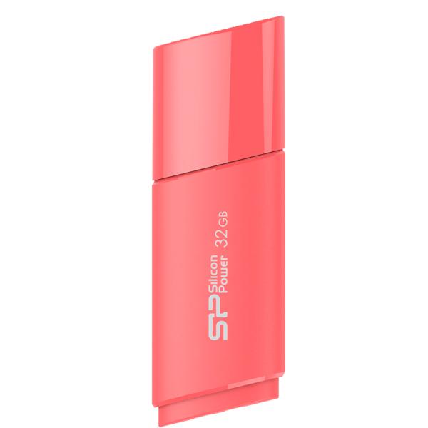 Флешка USB 32Gb Silicon Power Ultima U06 SP032GBUF2U06V1P peach red розовый