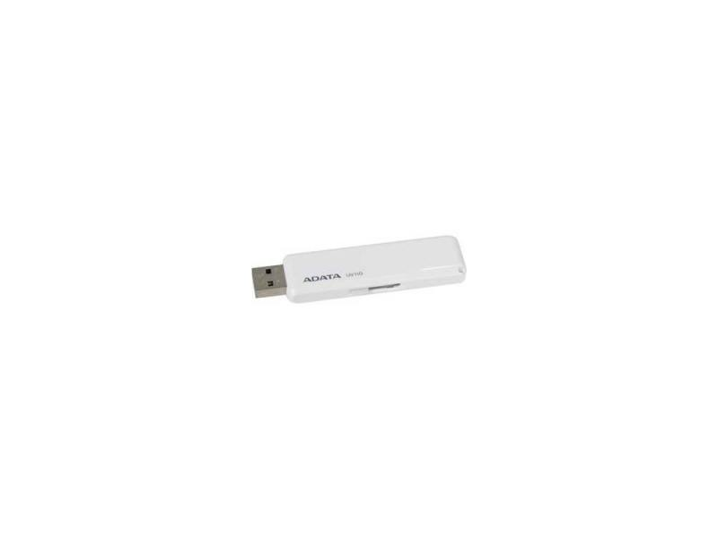 Флешка USB 16Gb A-Data UV110 USB2.0 AUV110-16G-RWH белый