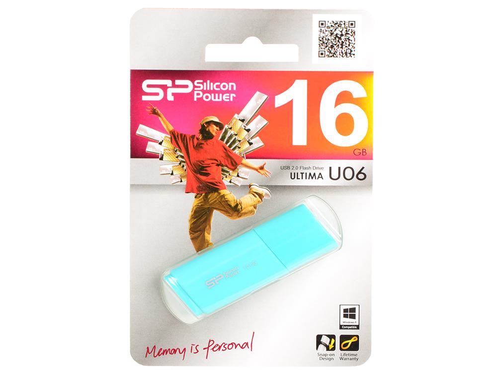 Внешний накопитель 16GB Silicon Power U06 (SP016GBUF2U06V1B) 2mbi300uc 120 genuine power igbt module spot xzqjd