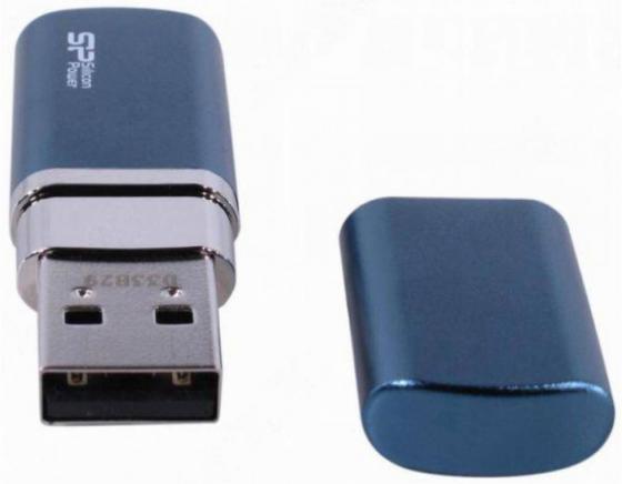 USB флешка Silicon Power Luxmini 720 64GB Blue (SP064GBUF2720V1D) USB 2.0 silicon power touch 835 64gb blue usb накопитель
