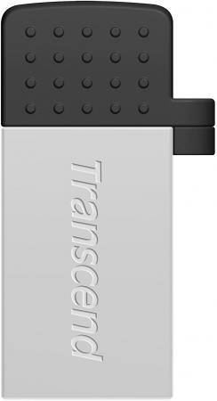 Флешка USB 8Gb Transcend Jetflash 380 TS8GJF380S серебристый USB 2.0 флешка usb 8gb transcend ts8gjf520s серебристый