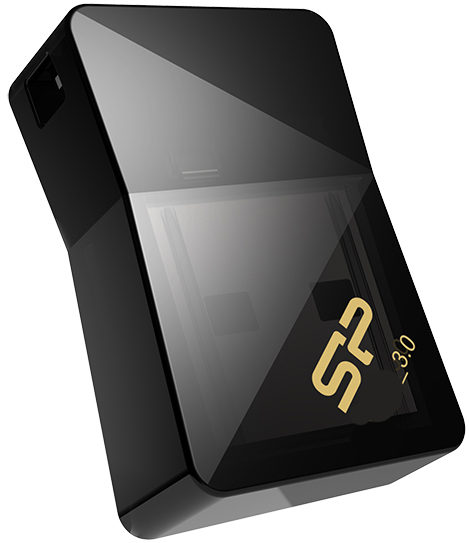 USB флешка Silicon Power Jewel J08 16Gb Black (SP016GBUF3J08V1K) USB 3.0 флешка usb silicon power jewel j05 16гб usb3 0 черный [sp016gbuf3j05v1k]