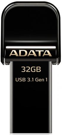 Флешка USB 32Gb A-Data AI920 AAI920-32G-CBK черный USB 3.1 / Lightning