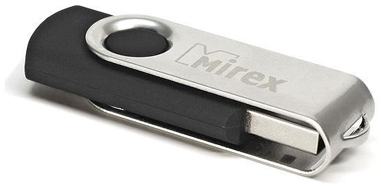 USB флешка Mirex Swivel 8GB Black (13600-FMURUS08) USB 2.0