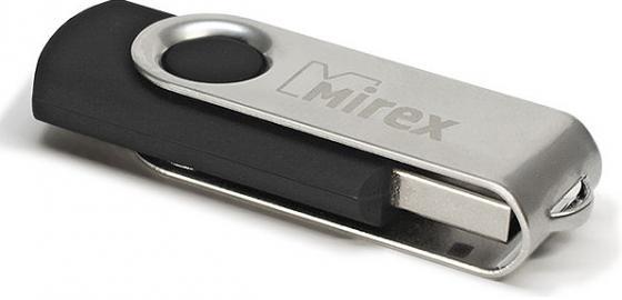 USB флешка Mirex Swivel 4GB Black (13600-FMURUS04) USB 2.0