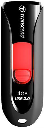 USB флешка Transcend Jetflash 590 4GB Black (TS4GJF590K) USB 2.0