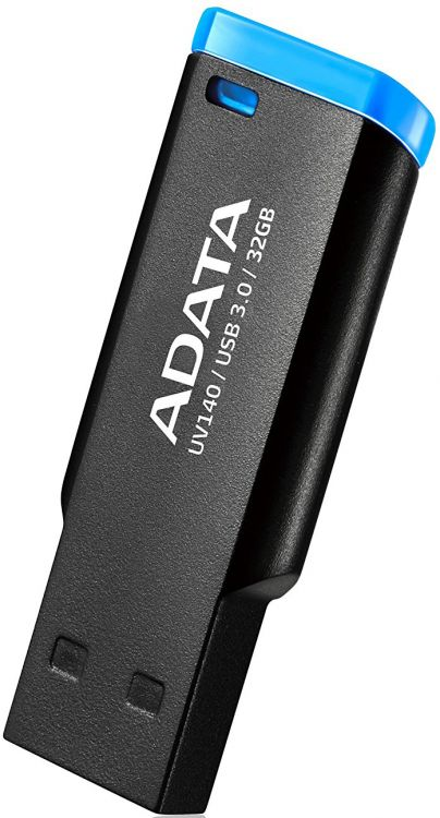 USB флешка A-Data UV140 32GB Black Blue (AUV140-32G-RBE) USB 3.0 микрофон blue microphones yeti usb