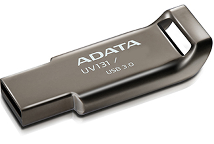 USB флешка A-Data UV131 16GB Titanium (AUV131-16G-RGY) USB 3.0