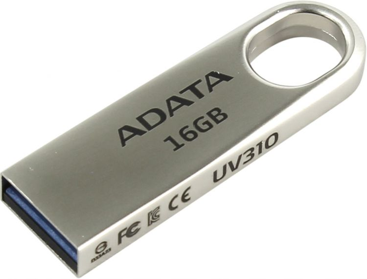 USB флешка A-Data UV310 16GB Gold (AUV310-16G-RGD) USB 3.1 50pcs micro usb 3 0 male to usb c usb 3 1 type c female extension data cable for macbook tablet 10cm by fedex