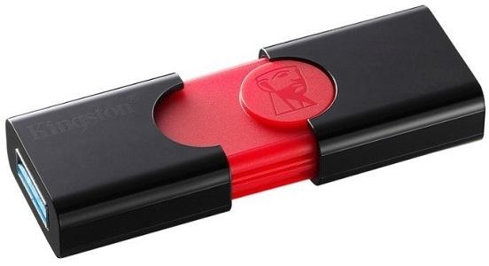 USB флешка Kingston DT106 32GB Black Red USB3.0 гарнитура qcyber roof black red звук 7 1 2 2m usb
